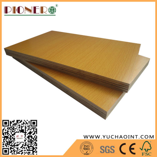 China High Glossy Brown Melamine Plywood for Furniture - China