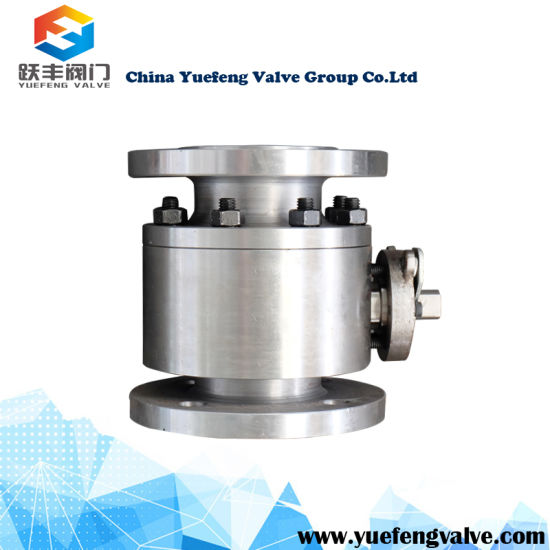 High Pressure Floating Flange Ball Valve pictures & photos