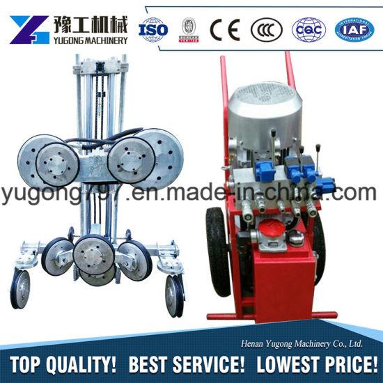 China Hydraulic Small Diamond Wire Saw Machine for Sale - China ...