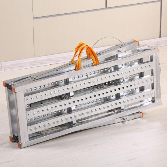 Steel Folding Stool Work Platform for Decoration Wash Car Folding Bench
