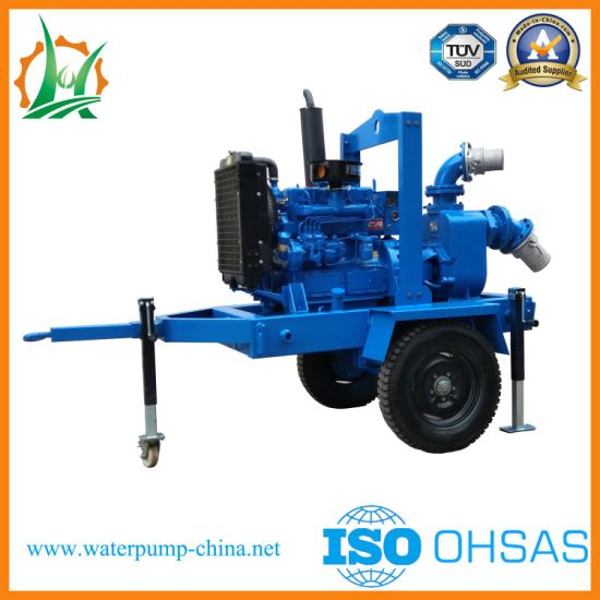 Dewatering Sewage Pump with Integral Fuel Tank pictures & photos