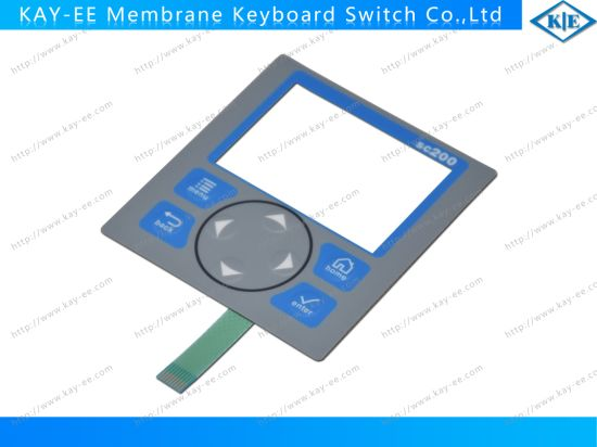Customized Clear Window Embossing Polydome Membrane Keypad Switch