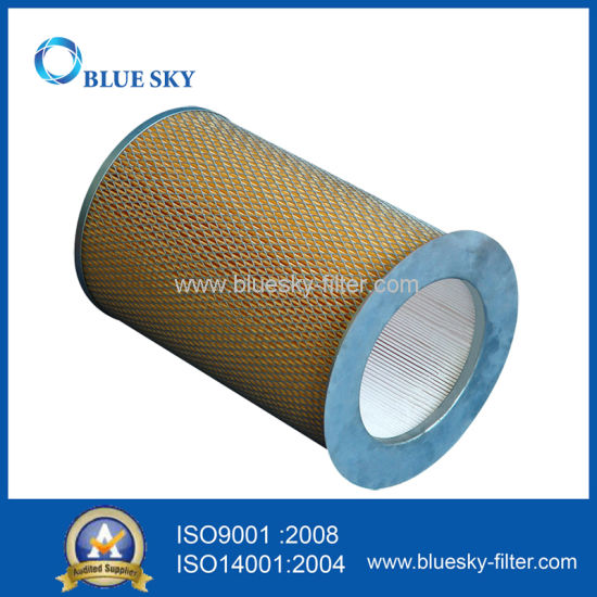 Canister HEPA Filter with Metal Net for Vacuum Cleaner pictures & photos