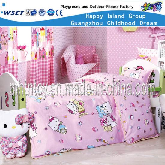 Children Furniture Hello Kitty Wooden Bed Set (HF-07501)