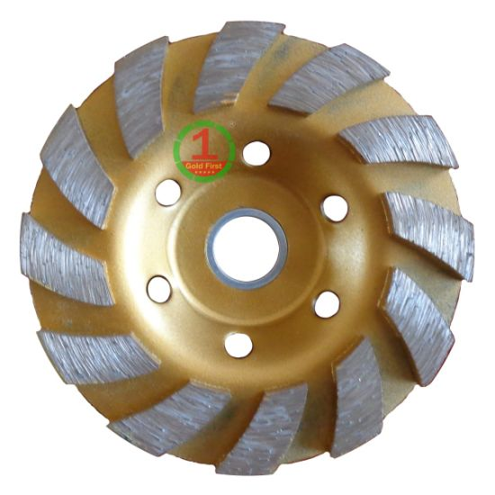Diamond Segment Turbo Cup Wheel for Grinding Concrete pictures & photos