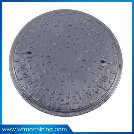 OEM Drainage Sanitary Sewer Manhole Cover/Casting Iron Manhole Covers for  Trench Drain