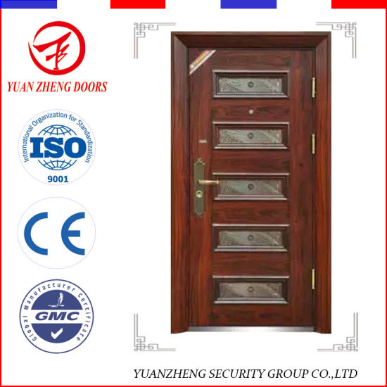 China Supplier Steel Exterior Home Front Iron Grill Design Doors ...