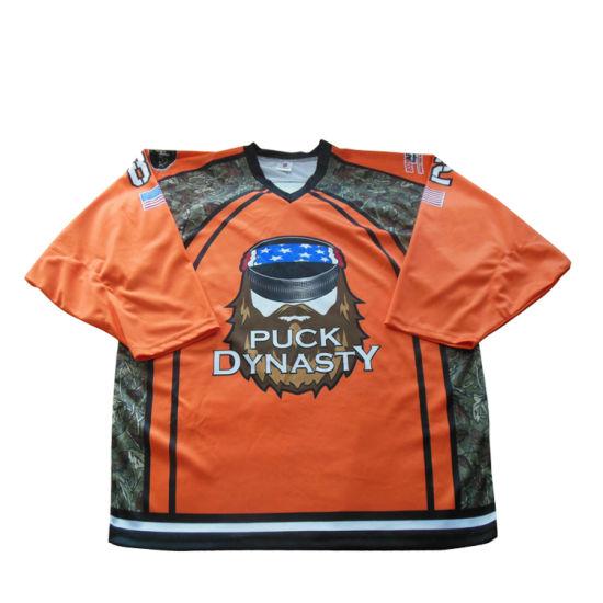 Hot Selling Cheap Custom Sublimation Team International Ice Hockey Jerseys No Minimum Sportswear