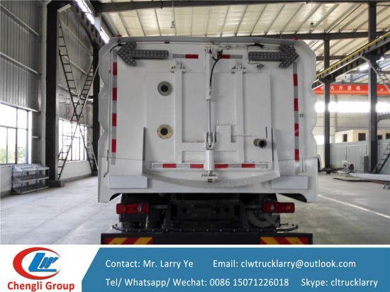 Dongfeng High Pressure Road Clean Truck pictures & photos