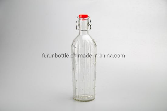 1000ml Manufacturer Factory Direct Sales Price Wholesale Swing Top Glass Bottle1234
