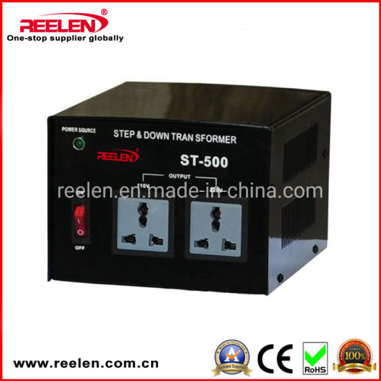 500va Single Phase Step up & Down Transformer IP20 with Ce RoHS Certificate (ST-500) pictures & photos