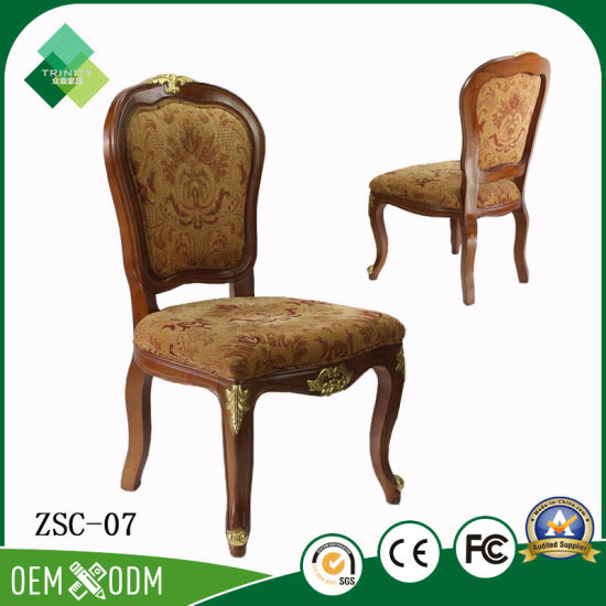 Danish Style Queen Throne Chair For Hotel Living Room (ZSC 07)