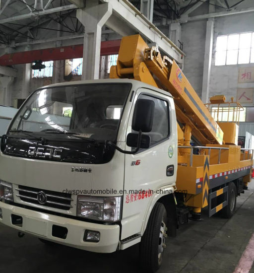Dongfeng 15m Aerial Platform Over Head Working Truck pictures & photos