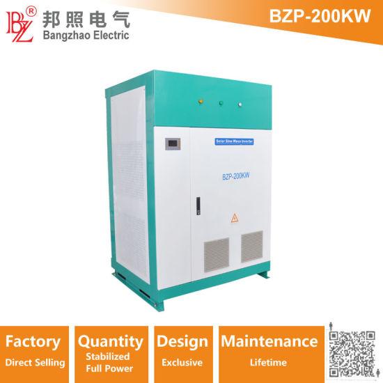 Anti-Corrosion Power Phase Converter (BZT-200KW) From 3 Phase 400V 50Hz to 3 Phase 220VAC