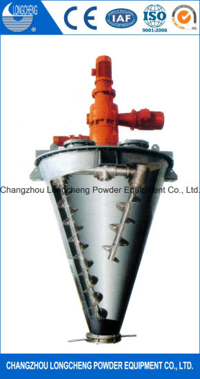 Dsh Conical Double Screw Spiral Mixer pictures & photos