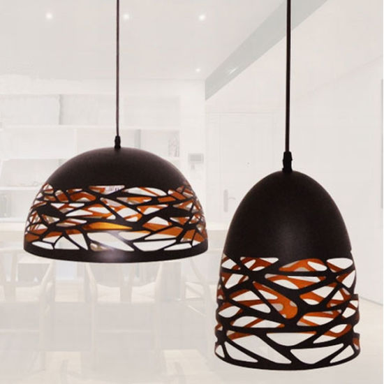 Jianer New Modern Hollowed-out Pendant Lighting in Black/White Painting pictures & photos