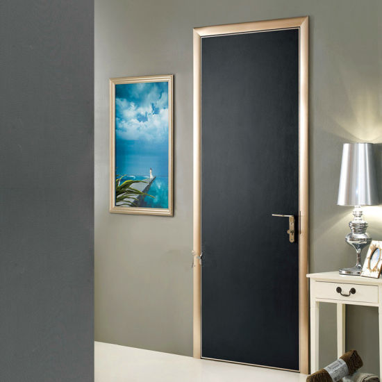 China Interior Bedroom Doors Wood Glass Door Design Modern Wooden