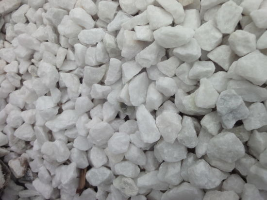 Hot Chinese Snow White River Pebble Stone pictures & photos