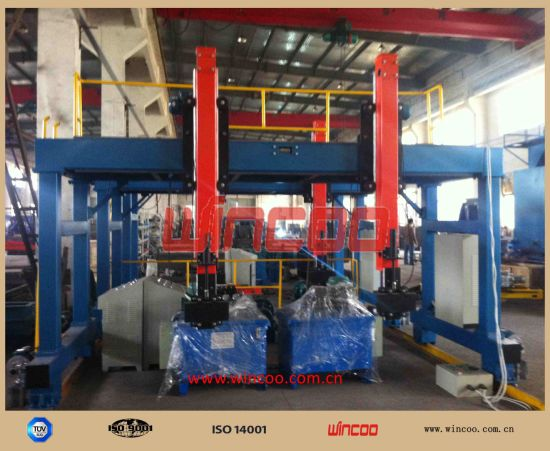 T / I / H Beam Automatic Welding Line Steel Structure Fabrication Line/ Machines pictures & photos