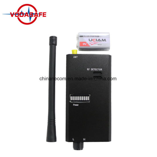 RF Signal Detector Tap Detector Wired Camera Bug Mobile Phone Camera Lens Sensor Scanner Anti-Spy Device pictures & photos