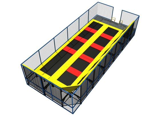 Big Bounce Colorful Amusement Indoor Trampoline Park Hot Selling Trampoline Park pictures & photos