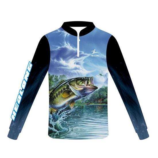 f519e902 Healong Customized Fishing Club Wear Fishing Jerseys Shirts pictures &  photos