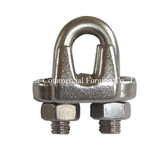 China Forged Forging Galvanzied Heavy Duty Wire Rope Cable Clamps ...