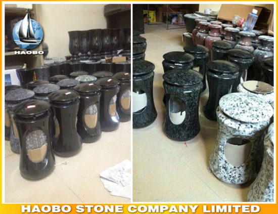 Granite Gravestone Lanterns Wholesale pictures & photos