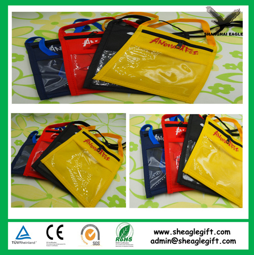 Custom Small Cheap Promotional Neck Advertising Bag pictures & photos
