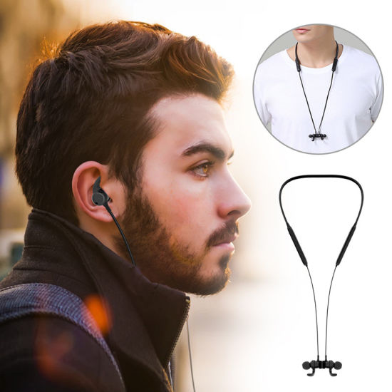 Ipx7 Water-Resistant Neckband Bluetooth Wireless Stereo Headsets Magnetic Earbuds for Sport OEM Manufacturer pictures & photos