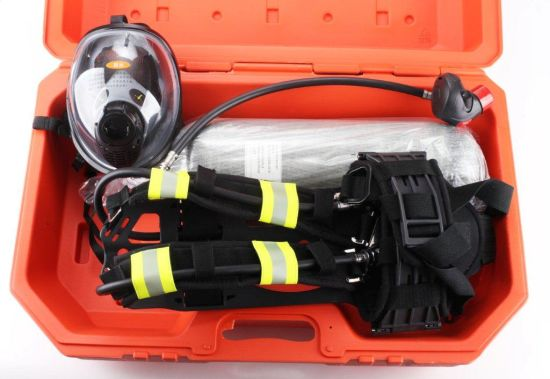 En137 Certificate 6.8L Carbon Fibre Cylinder Air Breathing Apparatus pictures & photos