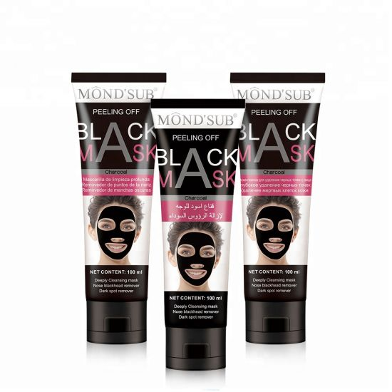 Deep Cleansing Peel-off Black Mask Active Charcoal Tearing Facial Mask