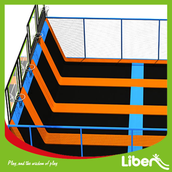 Super Mall Professional Adult Indoor Trampoline for Sale pictures & photos