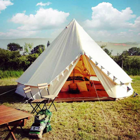 Foldable Family C&ing Canvas Bell Tent Sibley Tent for Wholesale & China Foldable Family Camping Canvas Bell Tent Sibley Tent for ...