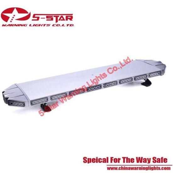Black Case 3W Aluminum Emergency Police Lightbar/ Warning LED Light Bar pictures & photos