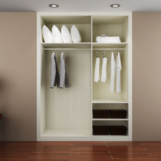 Guangzhou Manufacturer Modern Hotel Wooden Built In Wardrobe Closet  (YG15 M02)