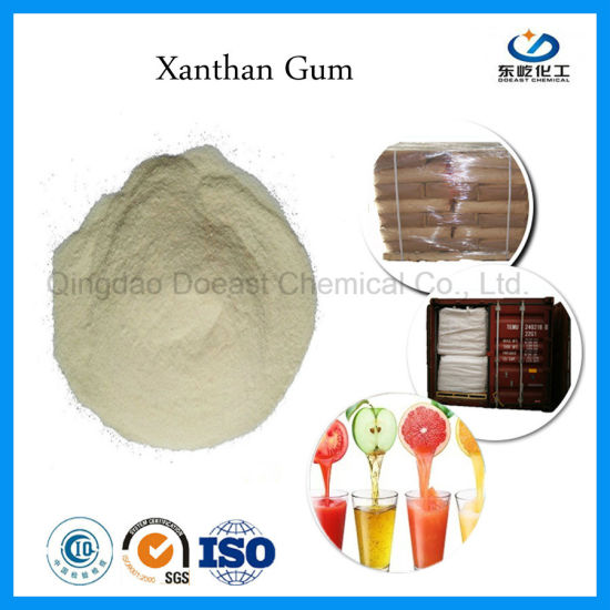 Xanthan Gum Food Additive for Drink Production