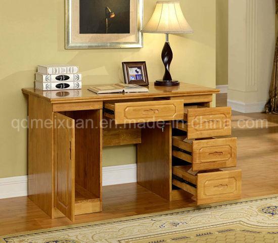 Oak Solid Wood Office Desk Study Room Furniture Modern Style M X2496