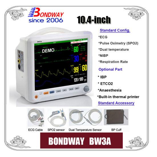Portable Patient Monitor (BW3B) , ECG NIBP, SpO2, Temperature, Pulse Rate