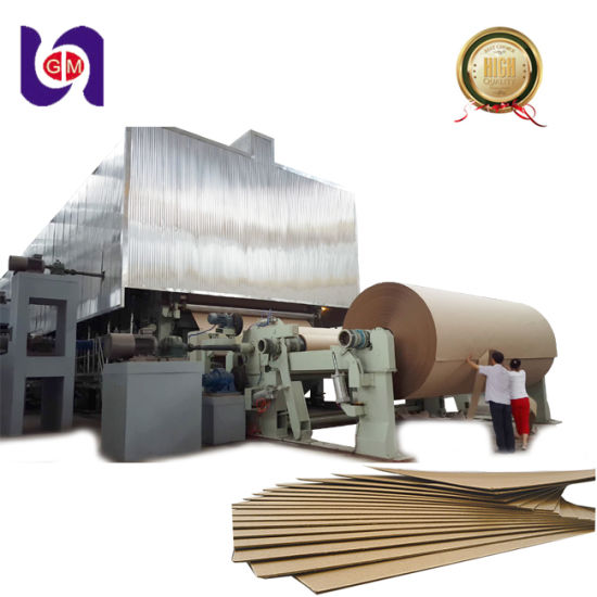 China 1575mm Corrugating Paper Machine, Currugated Paper Machine