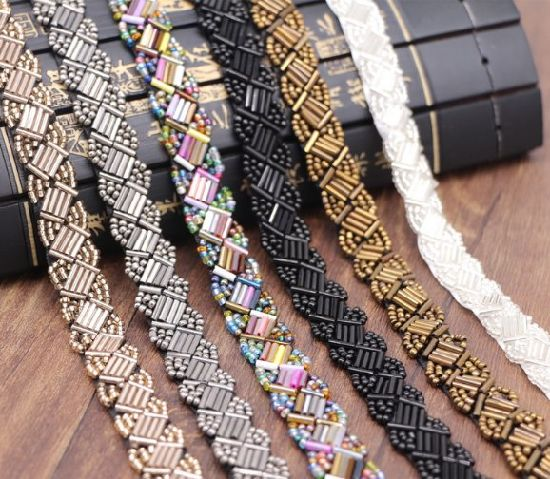 Wholesale Beading Ribbon for DIY Decoration and Hair Accessories