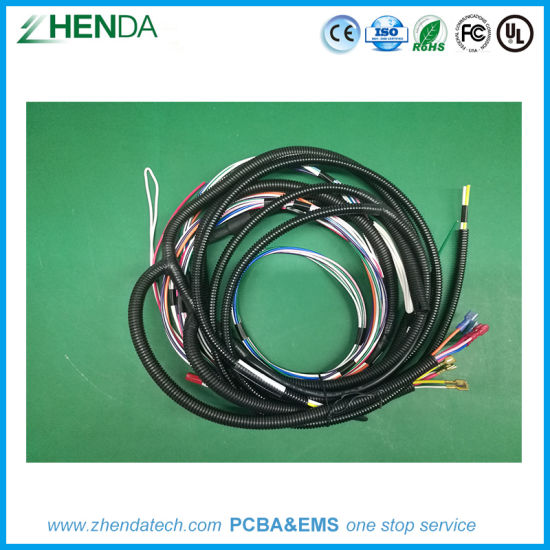 china custom cable wire harness for refitting vehicle diy auto rh zdtech en made in china com