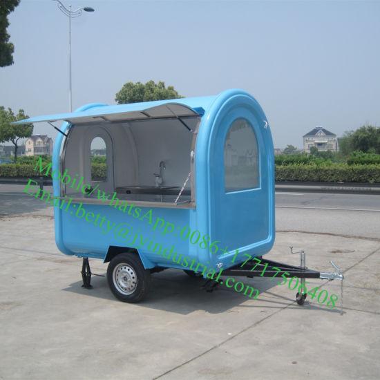 High Quality Mobile Food Cart/Hot Dog Food Truck/Crepe Machine Food Trailerjy-B5
