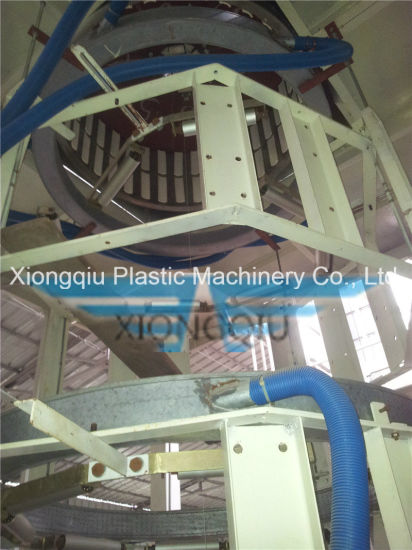 POF 5 Layers Co-Extrusion Heat Shrinkable Film Blowing Machine pictures & photos