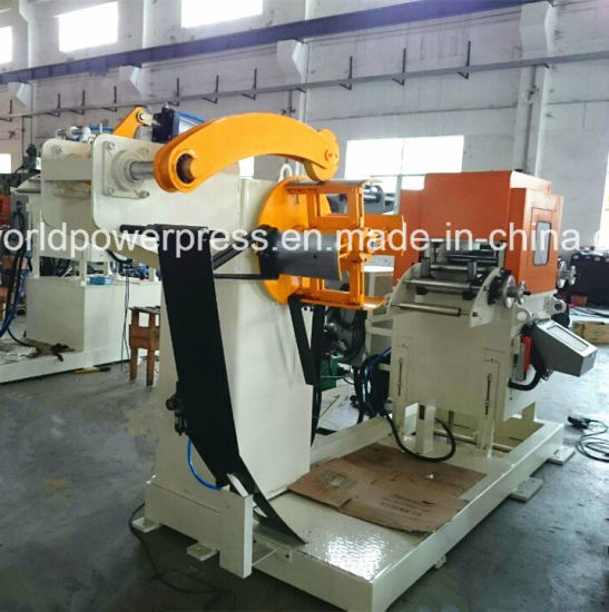 Coil Sheet Automatic Feeder with Straightener for Press Line pictures & photos