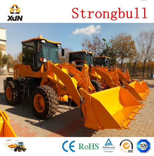 Strongbull Zl20 Zl926 Wheel Loader with Oil Bath Air Filter Rock Bucket pictures & photos