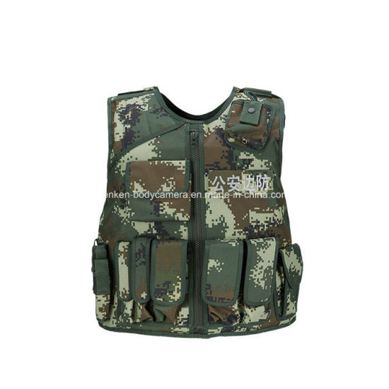Tactical Reflective Stab Resistant Vest/Multi-Task/Easy Move/PC/Camouflage/Military pictures & photos
