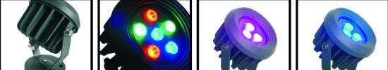 Waterproof RGB LED Garden Lamp for Outdoor Lighting (ICON-B017A-9) pictures & photos