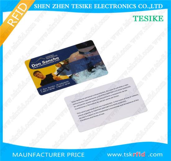 125kHz 13 56MHz UHF Chip Card Plastic RFID NFC Chip Card