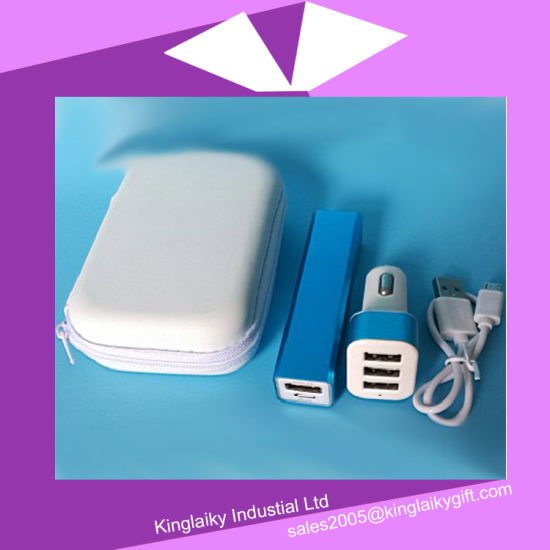 Daily Use Promotional Gift Power Bank with Bag (KPB-002) pictures & photos